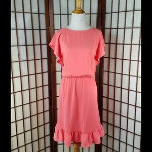 A.N.DEAWY Ruffled sleeves Casual Dress